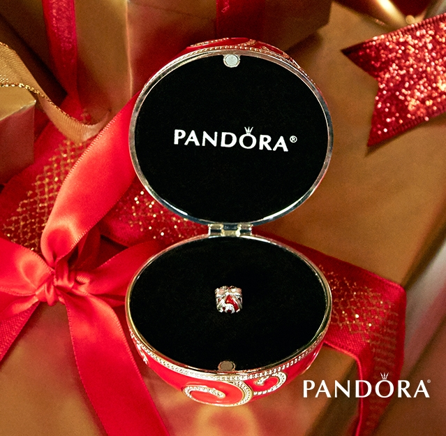 Exclusive Pandora Holiday Charm and Ornament found at HeartStrings on the Bypass!