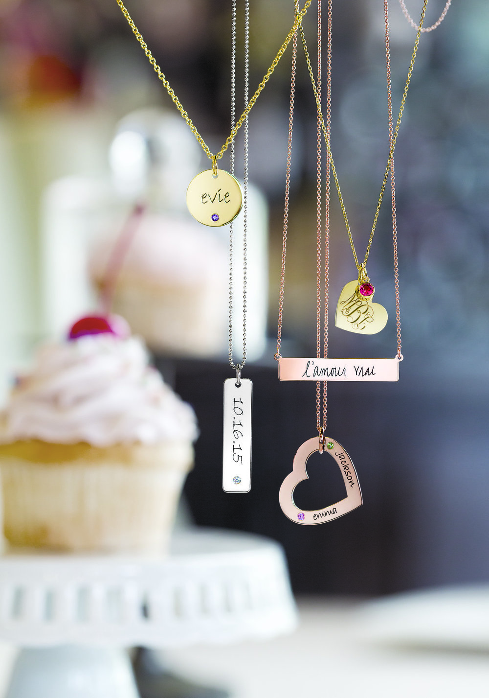 A personalized necklace with the bride's monogram, single initial or the wedding date in roman numerals would make for the perfect gift for your bride! It's sentimental and something she will have forever! Stop by the Jewelry Barn to see the styles we have to offer.