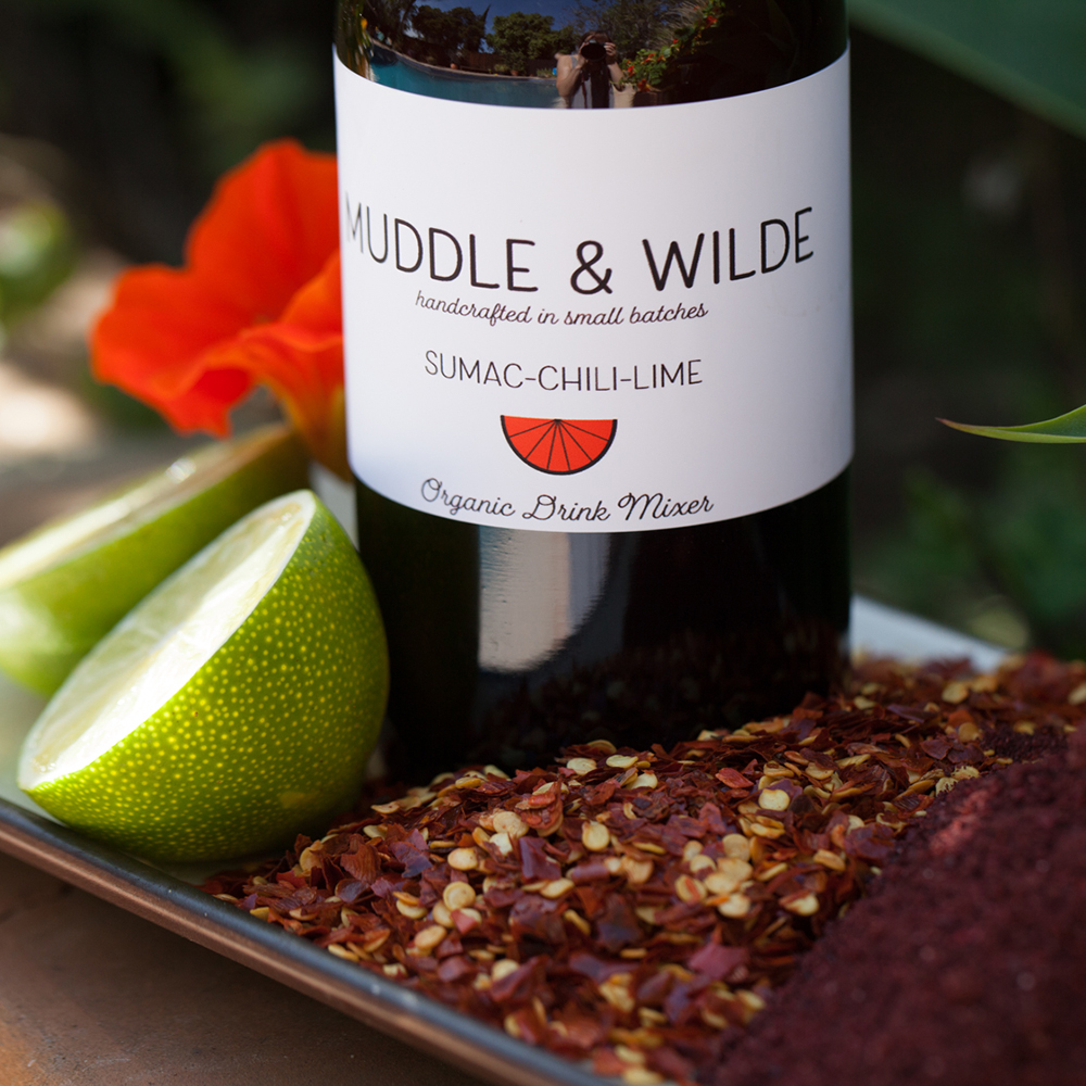 sumac chili lime - The perfect balance of sour, spice and citrus. Mix with tequila, mescal, vodka & soda water.