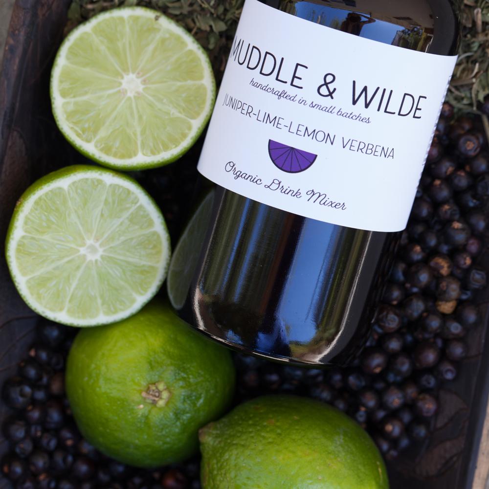 juniper lime lemon verbena - Vibrant Lemon Verbena and lime rounded by the tonic like taste of juniper, Mix with gin, vodka, sparkling wine & soda water.