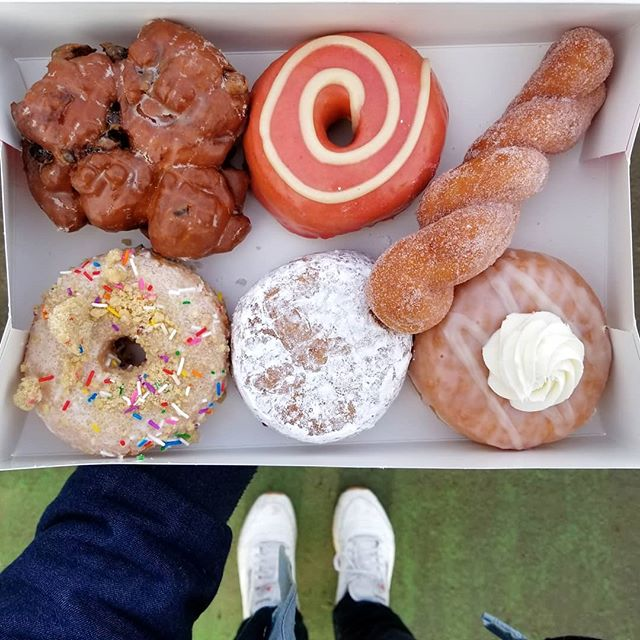 K we don't want to jinx it but we think Third Winter might be over and what better way to celebrate than w/🍩🍩🍩🍩🍩🍩's