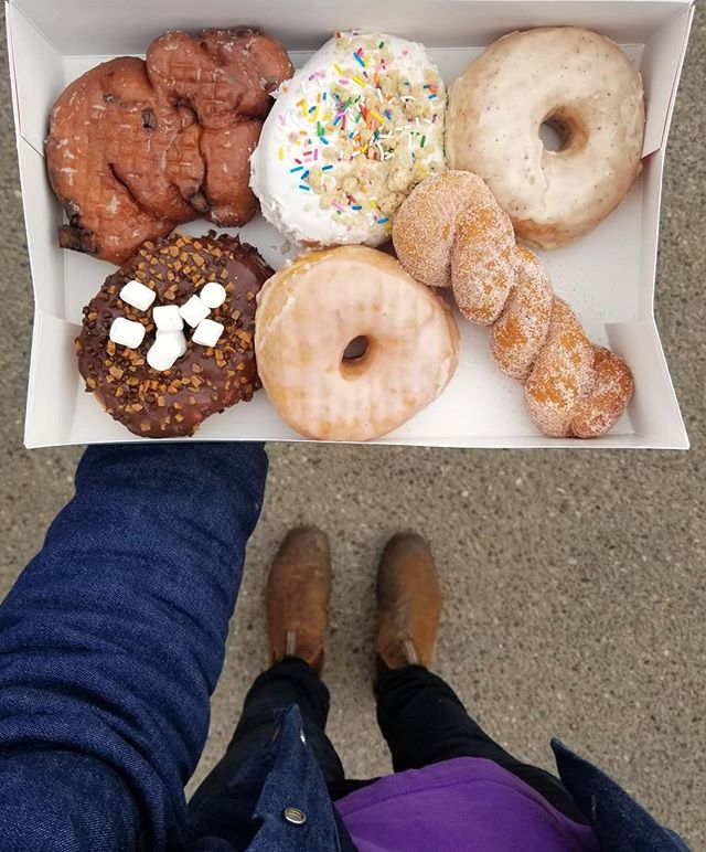 Guys. It's #nationaldonutday tomorrow. Tag someone that needs to know this. And come and see us tomorrow for some sweet 🍩🍩's and 20% off all tea and merch!