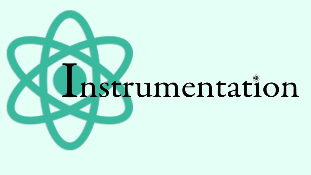 Instrumentation Graphic with Atom