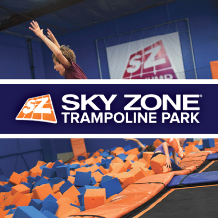 Skyzone in Hagerstown, MD - The world's first indoor trampoline fitness park offers deals on jump time, birthday parties and more!     -Click image to view current offers-