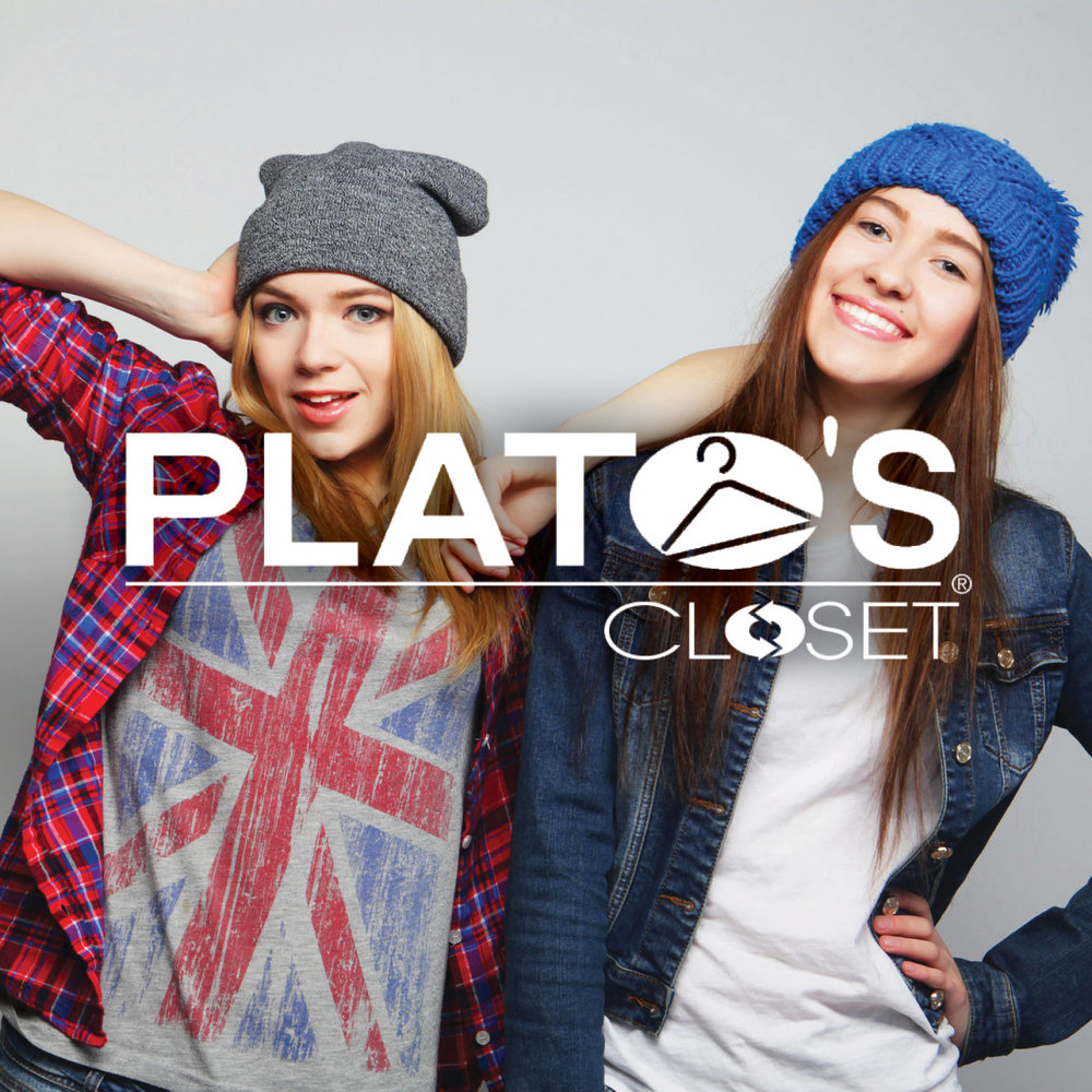 Plato's Closet offers gently used denim, tops, coats, dresses, skirts, hoodies, shoes, belts, purses, jewelry and more -Click image to view current offers-.