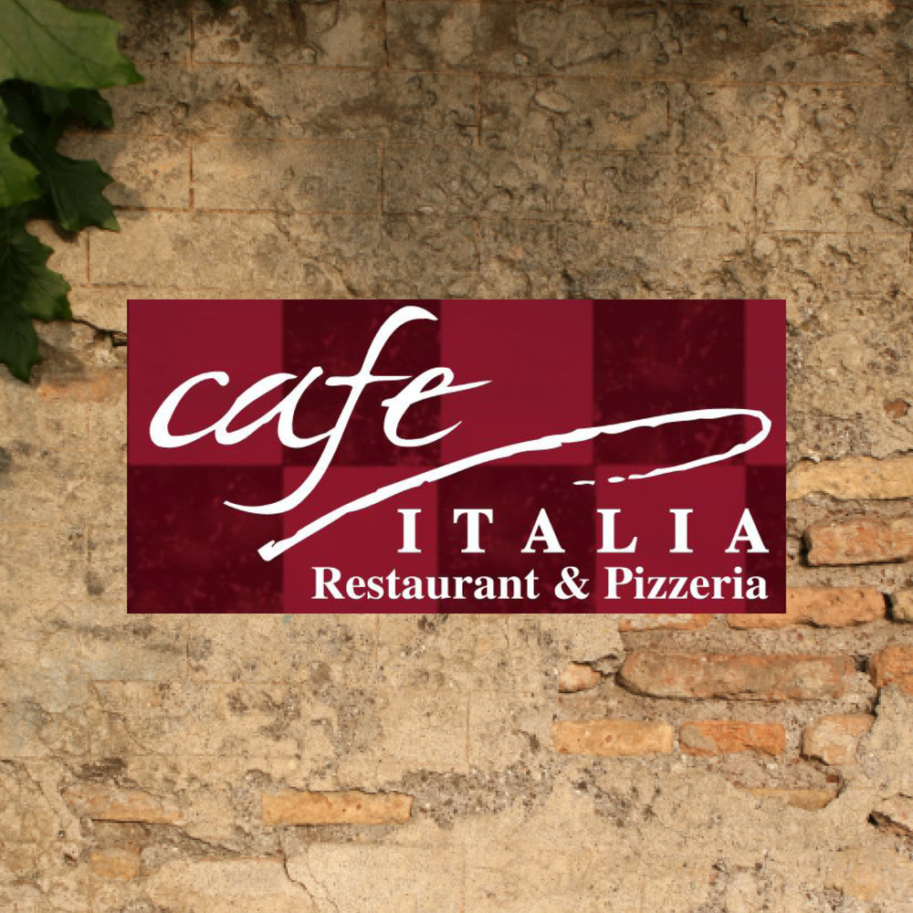 Café Italia Restaurant & Pizzeria! We've been providing the area with delicious Italian dishes for over 10 years. You may eat in our fabulous dining area, or carry out. -Click image to view current offers-