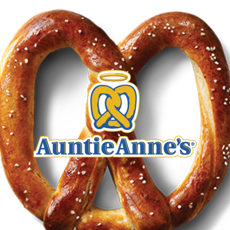 "Whether consumers are shopping, traveling, or picking up a snack in between college classes, Auntie Anne's portable products come with a ""Pretzel Perfect Guarantee"" which simply states, ""We guarantee you'll love your pretzel or we'll replace it with one that you do.""     -Click image to view current offers-"