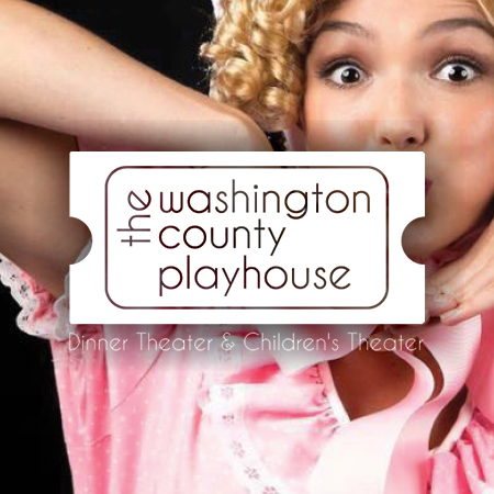 Enjoy some local comedy + complimentary buffet at the Washington County Playhouse for the whole family. Look inside for deals on tickets today!   -Click image to view current offers-