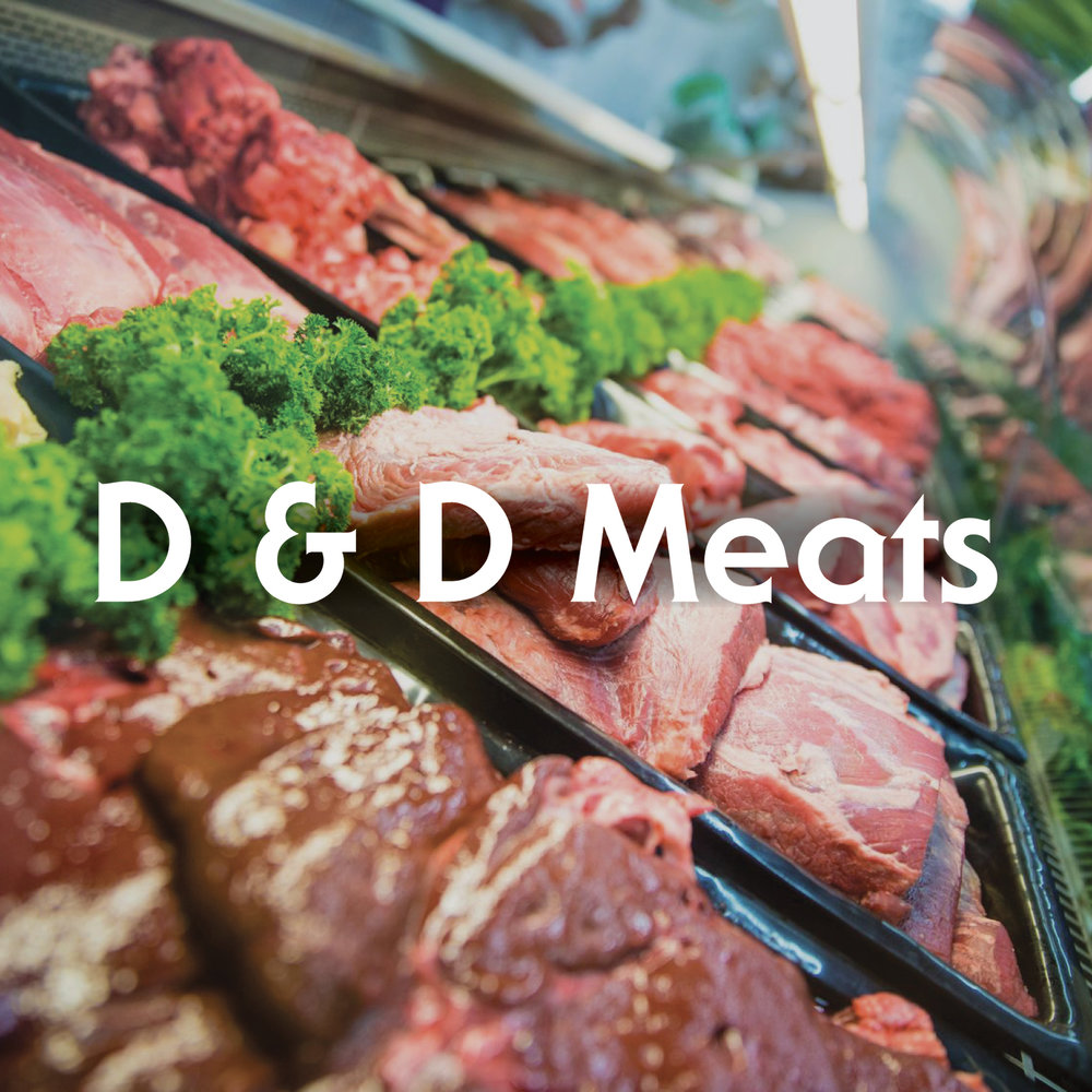 D&D Meats. All of our meats (beef, pork, and chicken) are hormone free, chemical free, and antibiotic free.   -Click image to view current offers-
