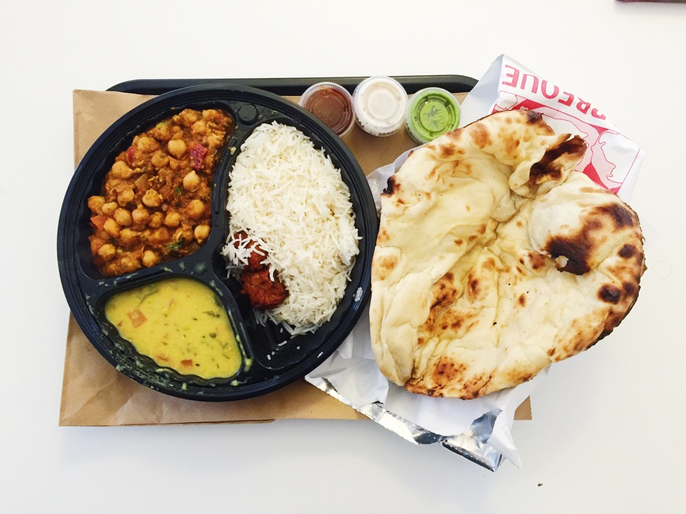 Chana Masala Lunch Box [Kurry Pavilion]