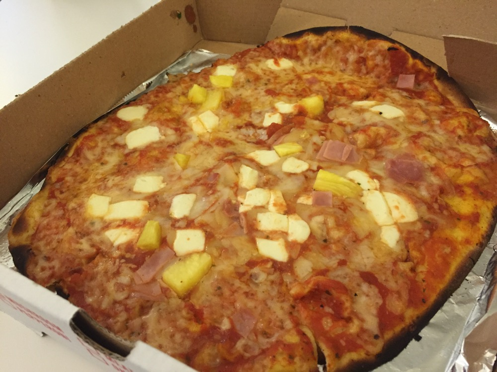 "10"" Hawaiian Pizza [Waldy's Woodfire Pizza]"