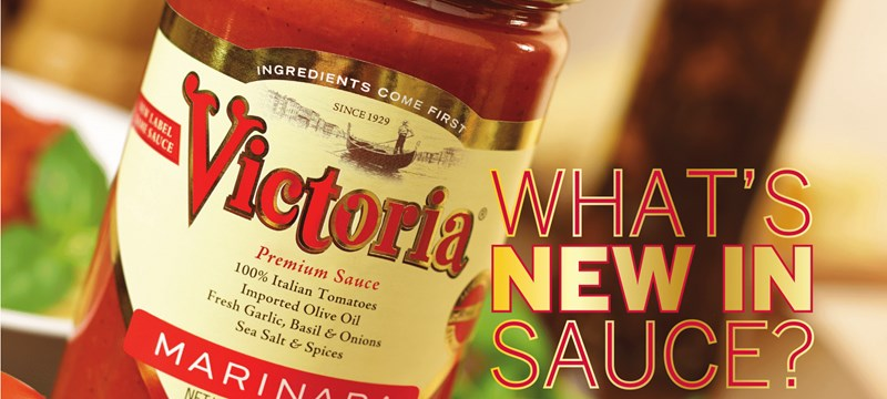 We designed a custom label for jars of Victoria Marinara Sauce, then handled the printing and delivery.
