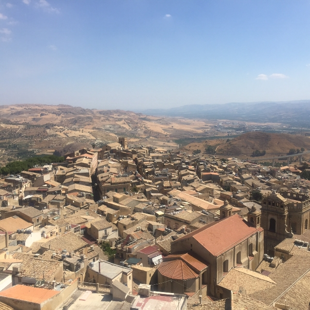 View of Caltagirone