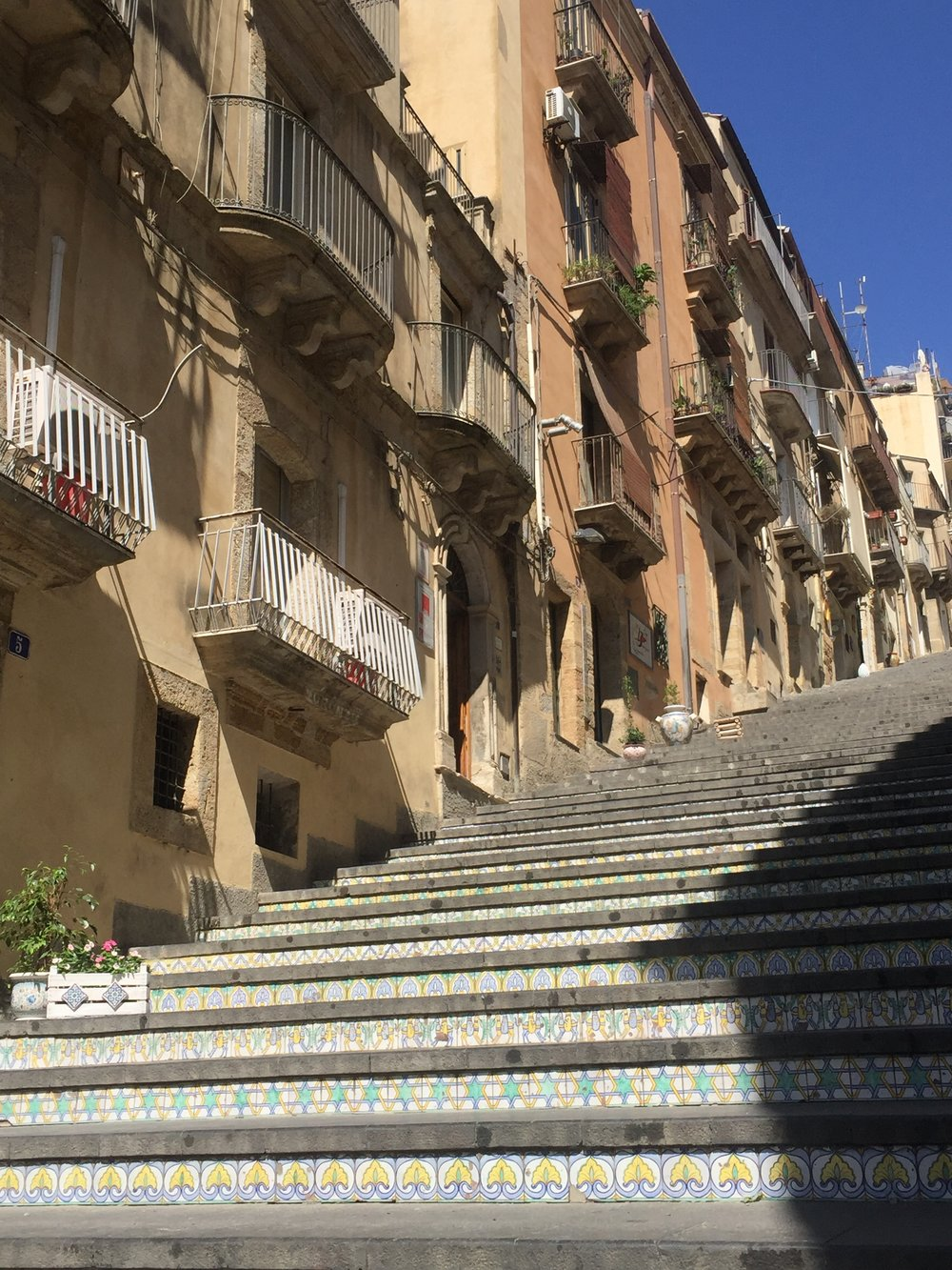 110 steps of Caltagirone