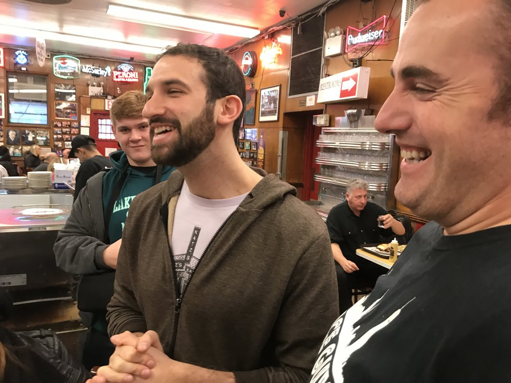 Katz's DELI OWNER JAKE DELL JOINS DANTE ON A TOUR TO EXPLAIN THE INNER WORKINGS OF THE NYC INSTITUTION.