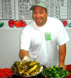 Alan Kaufman owner of The Pickle Guys on the Lower East Side!