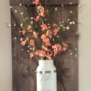 Mason Jar Wall Shutter   $45.00  We just love this wall decor. Join us for a fun night of crafting as we make this gorgeous wall shutter. Bring a friend, your favorite beverage and some snacks to share. Class starts at 6:30