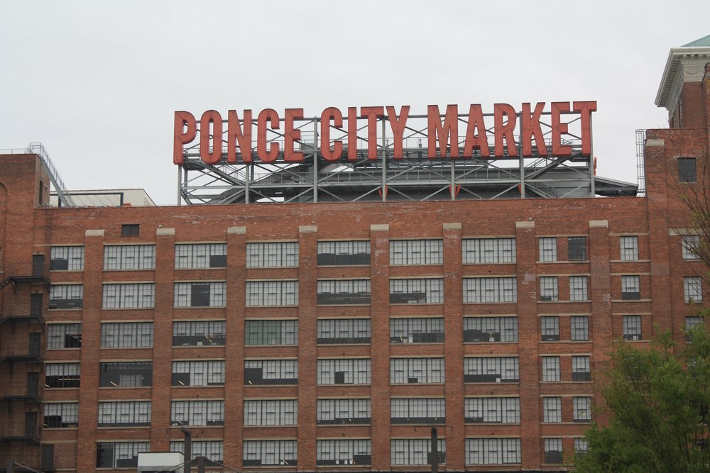 Location: Ponce City Market letters  Data: Number of people inside retail areas