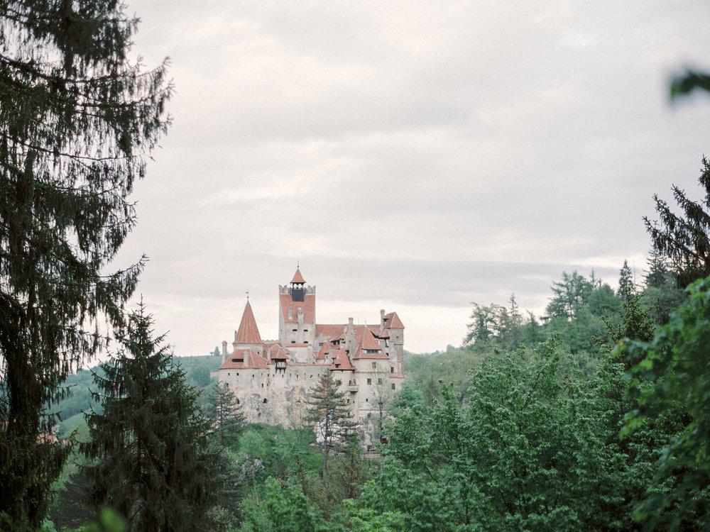 Bridal Editorial At Bran Castle Transylvania Sleeping Beauty
