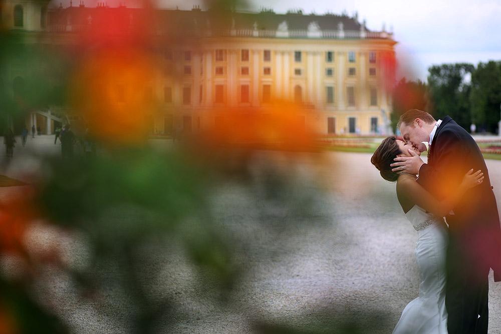 American luxury wedding in Vienna Austria at Schonbrunn Palace and Palais Coburg