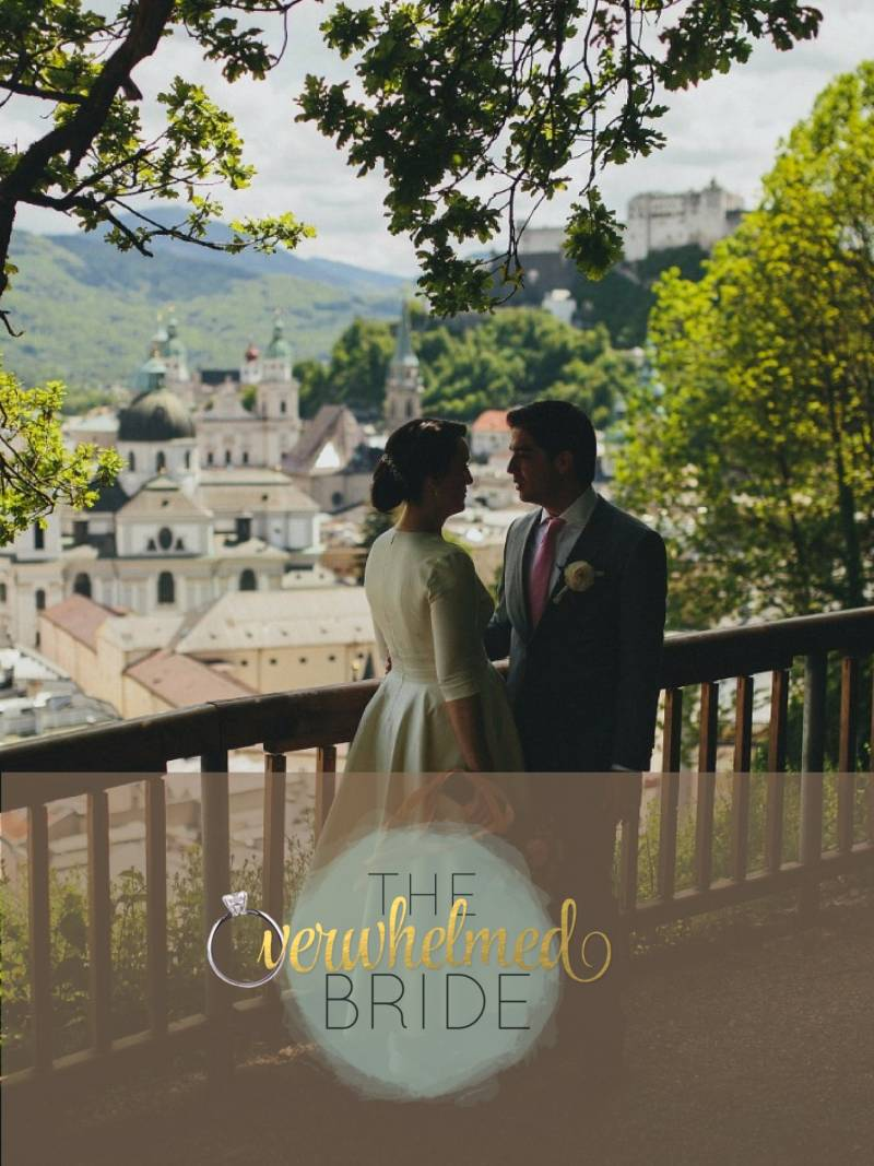 Destination Wedding Schloss Mirabell Leopoldskron Mönchstein Salzburg Austria featured on The Overwhelmed Bride