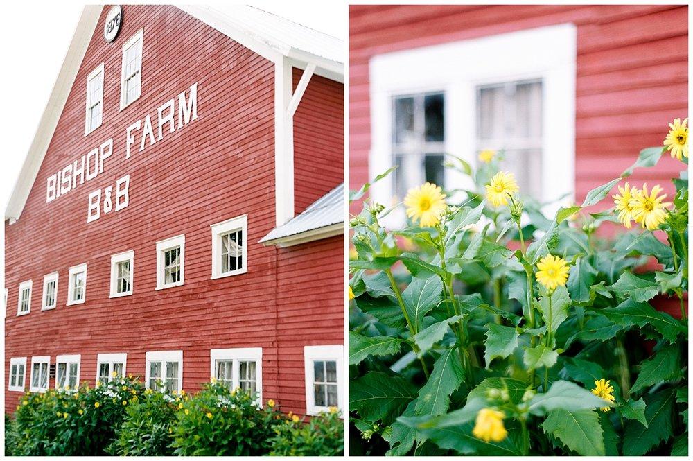 bishop farm wedding