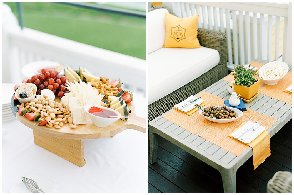 wedding food ocean house ri