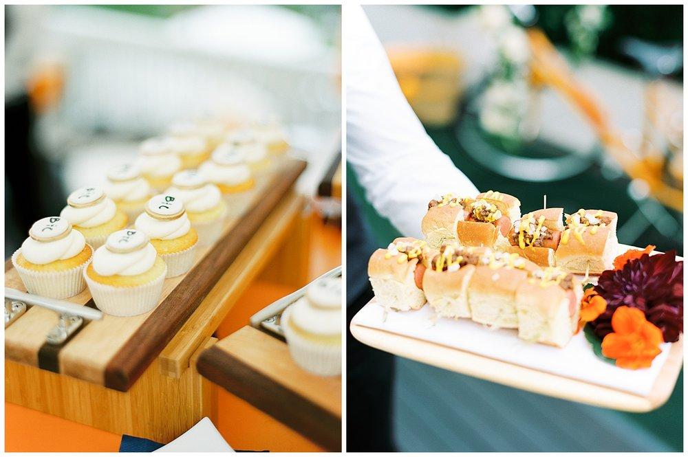 wedding snacks ocean house