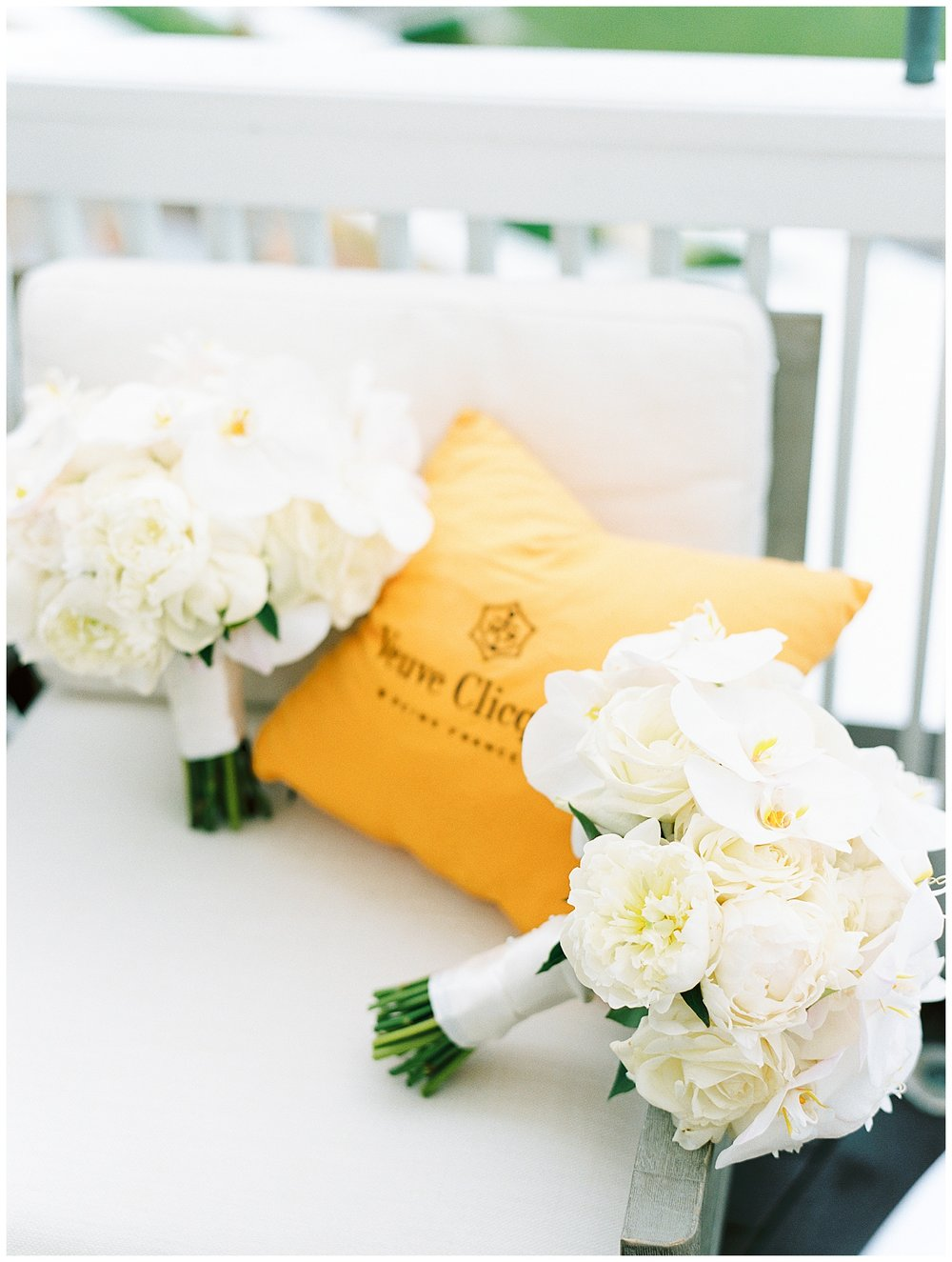 wedding bouquet orchids