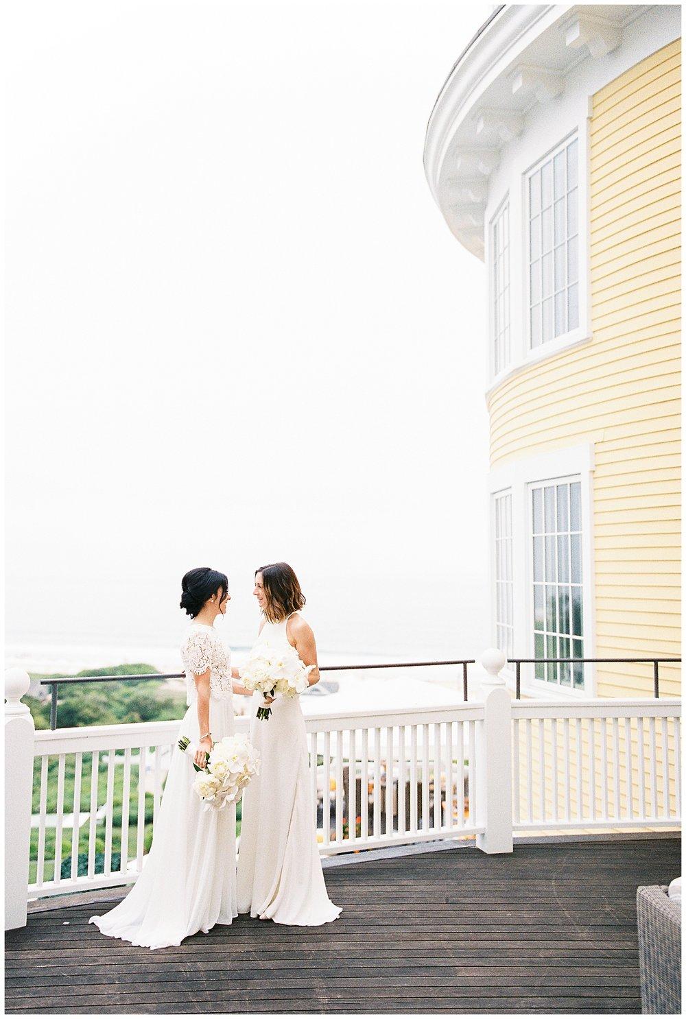 beautiful wedding ocean house ri