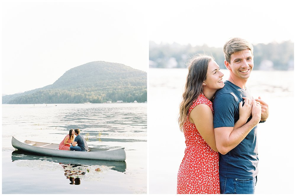 vermont engagement photos