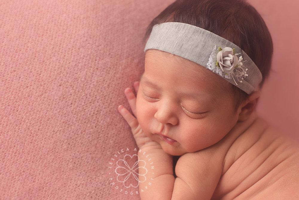 Newborn baby pink