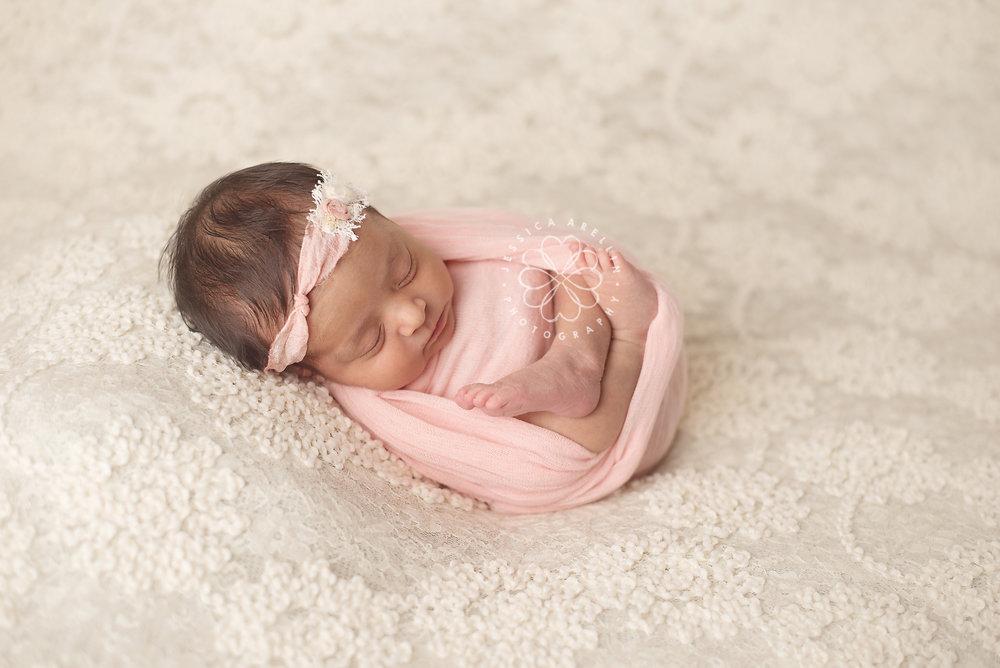 Newborn girl cream