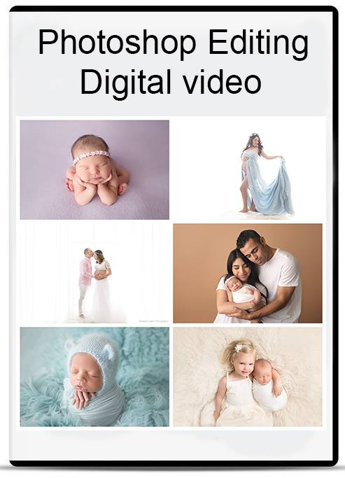 Newborn Maternity Photography Editing