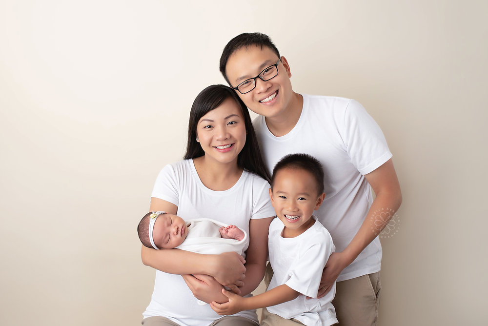Newborn Family Photography Session