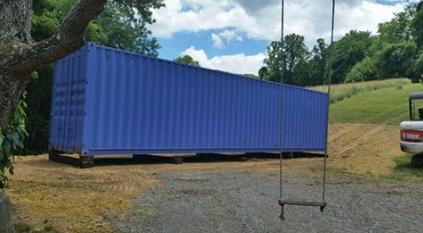 40' High Cube with custom paint job - Waynesville, NC