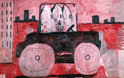 Philip Guston, City Limits (1969). Credit: Brooklyn Museum