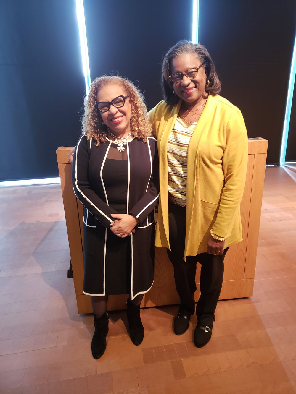 Kellie Jones and Hilda Y. Hutcherson, Professor of Obstetrics and Gynecology at the Columbia University Medical Center; Senior Associate Dean for Diversity and Multicultural Affairs, College of Physicians and Surgeons.
