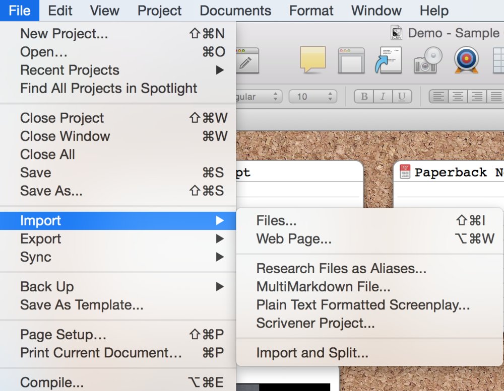 how to import your novel research into scrivener well storied