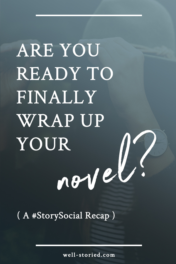 Are you editing your novel to death? Don't know when to stop or how to prepare to publish? Check out this recap from the #StorySocial chat on learning how to finally wrap up our novel projects! (via well-storied.com)