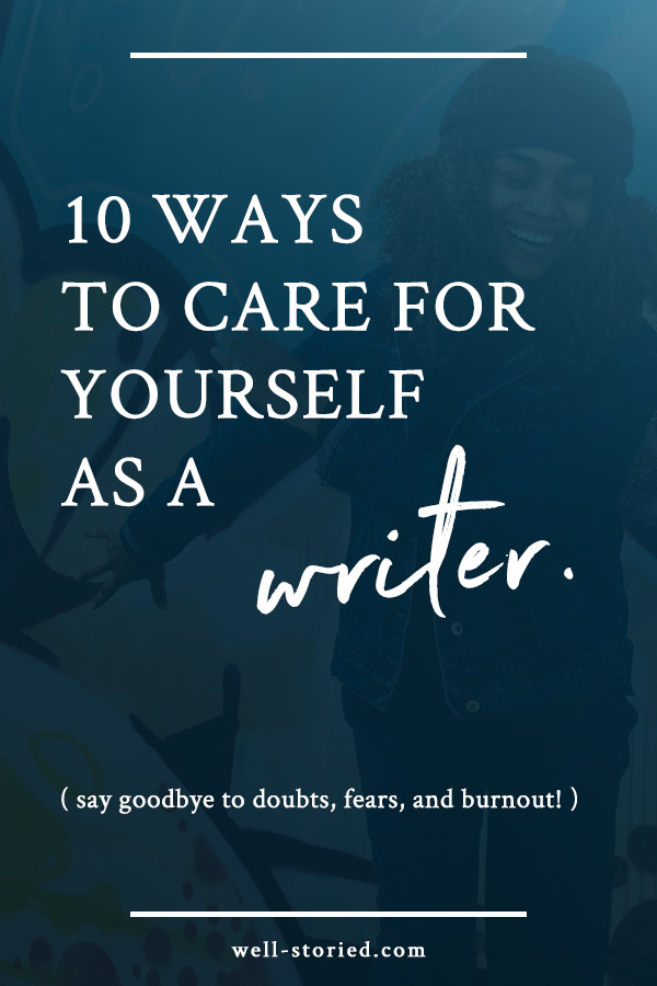As writers, our work can be emotionally and mentally taxing. The key to avoiding burnout and rocking our work despite the stress and fatigue? Taking caring of ourselves, of course! As I always say, self before stories. Here's are a few way to care for yourself so you can continue to write amazing stories every day!