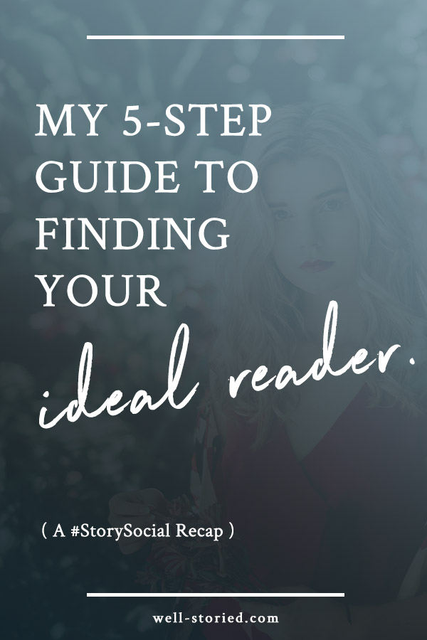 Keeping your ideal reader in mind can help you write with purpose and market with the intent to get your book into the hands of the readers who most need it. But how do you discover your ideal reader? Check out these 5 simple steps in this week's #StorySocial chat recap!