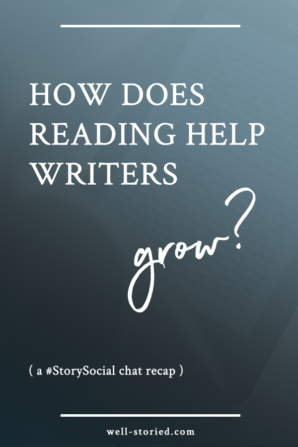 How does reading help writers grow? Check out this recap of the #StorySocial chat featuring opinions from dozens of writers worldwide!