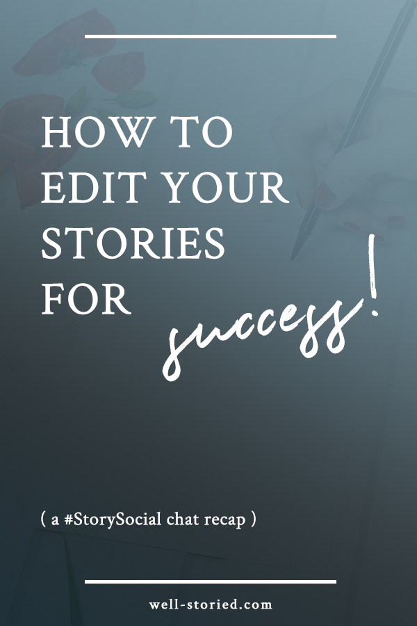 Editing is tough! What should you look for? Do you need beta readers? Should you hire a professional editor? We discussed all these questions and more in our latest #StorySocial Twitter chat. Catch the recap today!