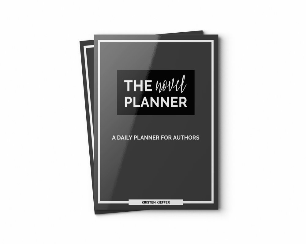 You're seriously in love with stories, but are you ready to get serious about writing your own?  Check out this daily planner for authors today!