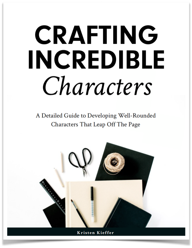 Develop well-rounded characters that leap off the page with Crafting Incredible Characters, our 105-page fillable PDF workbook!