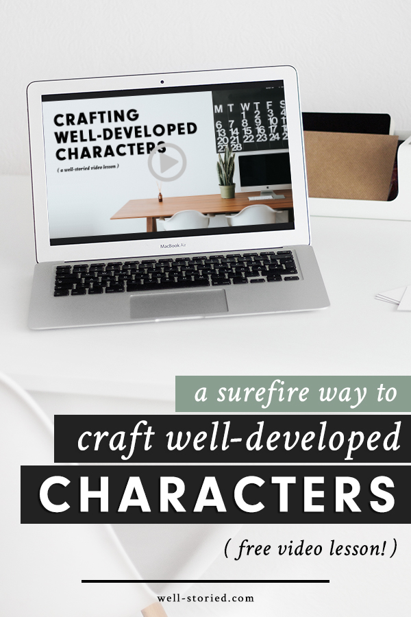 Strong characters are the backbone of any good story, but bringing them to life is often easier said than done. Eager for a bit of guidance?   This free + exclusive 13-minute video will walk you through the five key characterization elements you must address to build well-developed, fully human characters for your stories.