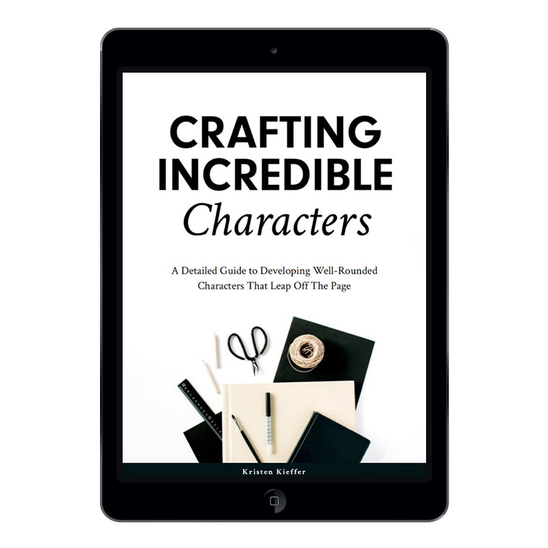 Develop well-rounded characters that leap off the page with this 105-page fillable PDF workbook!