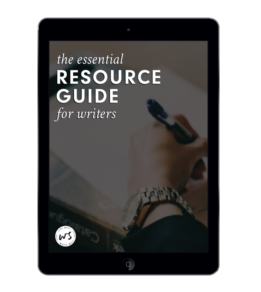 Boost your creativity, organize and streamline your writing life, learn more about the craft of writing, and begin publishing and marketing your novels today with this free 5-page guide to my all-time favorite resources for writers.