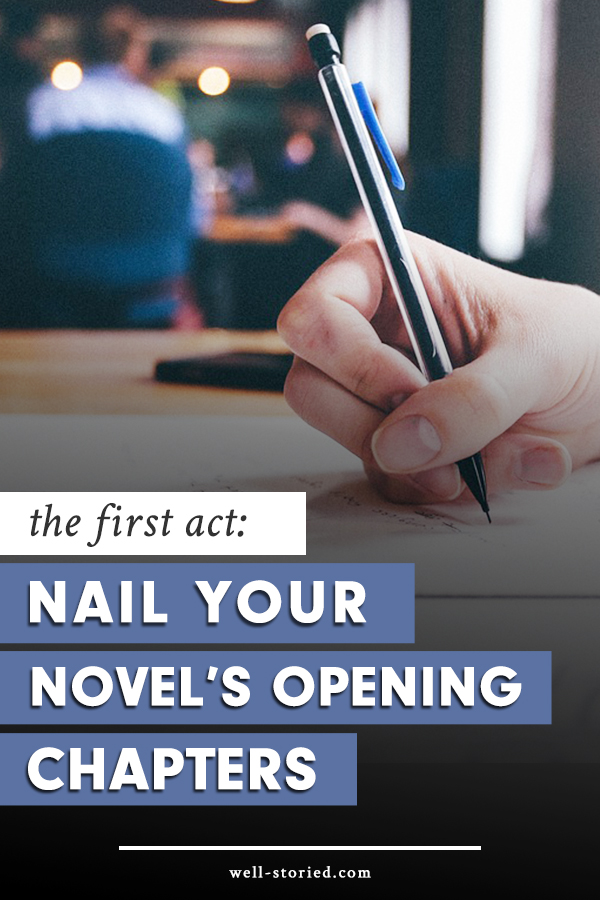 Are you ready to nail your novel's opening chapters? Learn how to write an amazing opening sequence using the 3-Act Story Structure today!